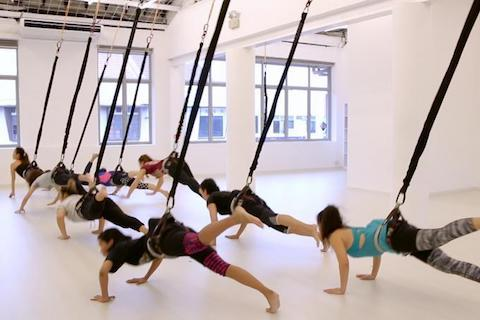 Aerial Bungee Fitness Equipment
