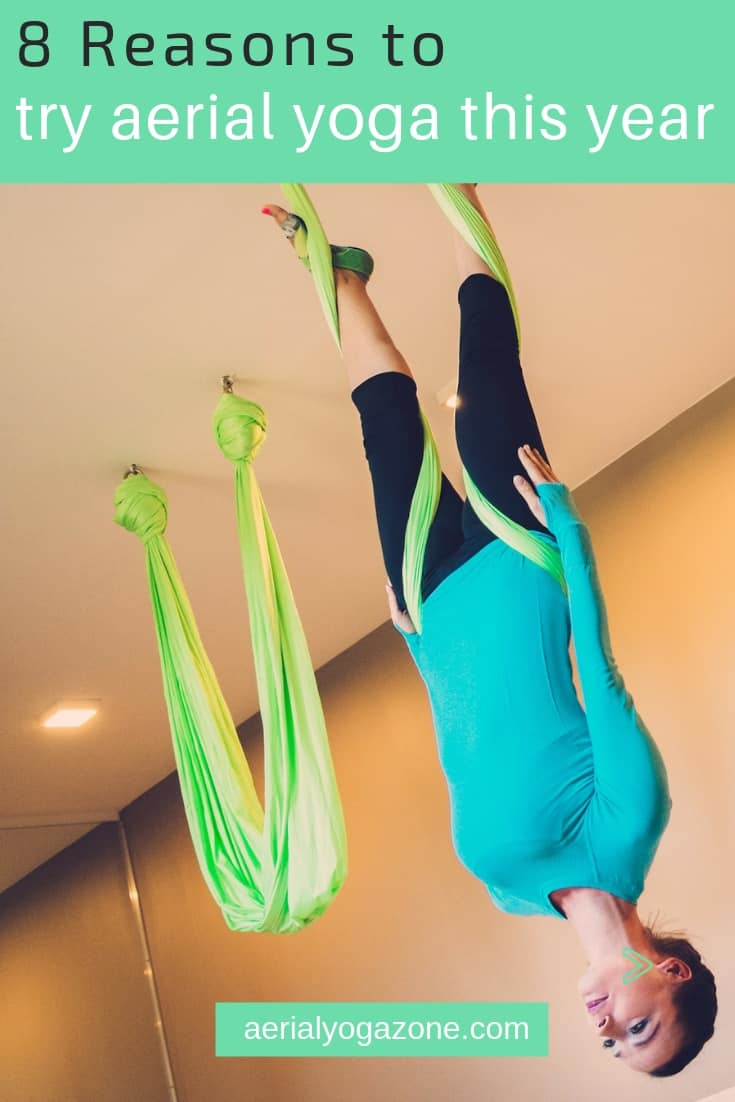 8 Reasons to try aerial yoga this year