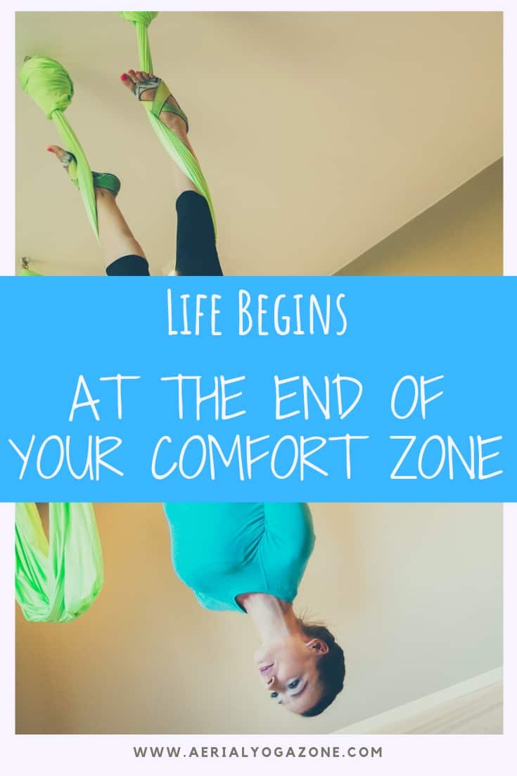 """Life begins at the end of your comfort zone."" - an old familiar saying."