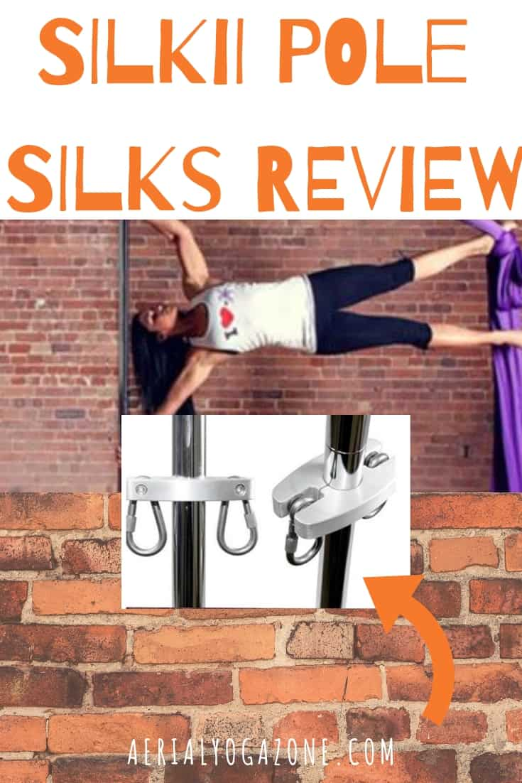 X Pole Pole Silks Review SILKII