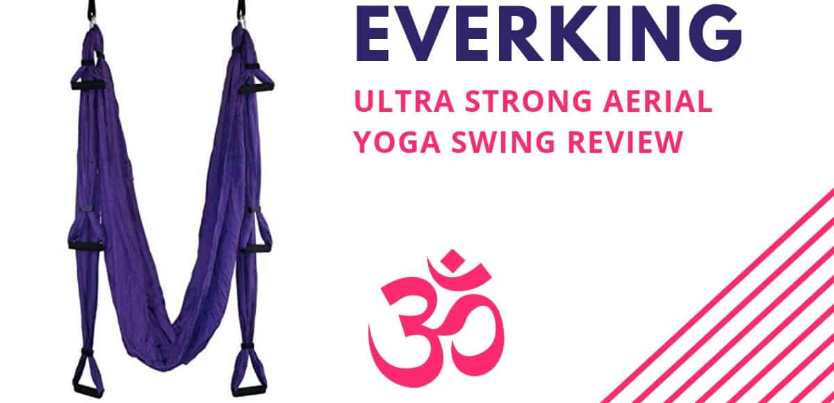 E EVERKING EverKing Aerial Yoga Swing - Ultra Strong Antigravity Yoga Hammock Review