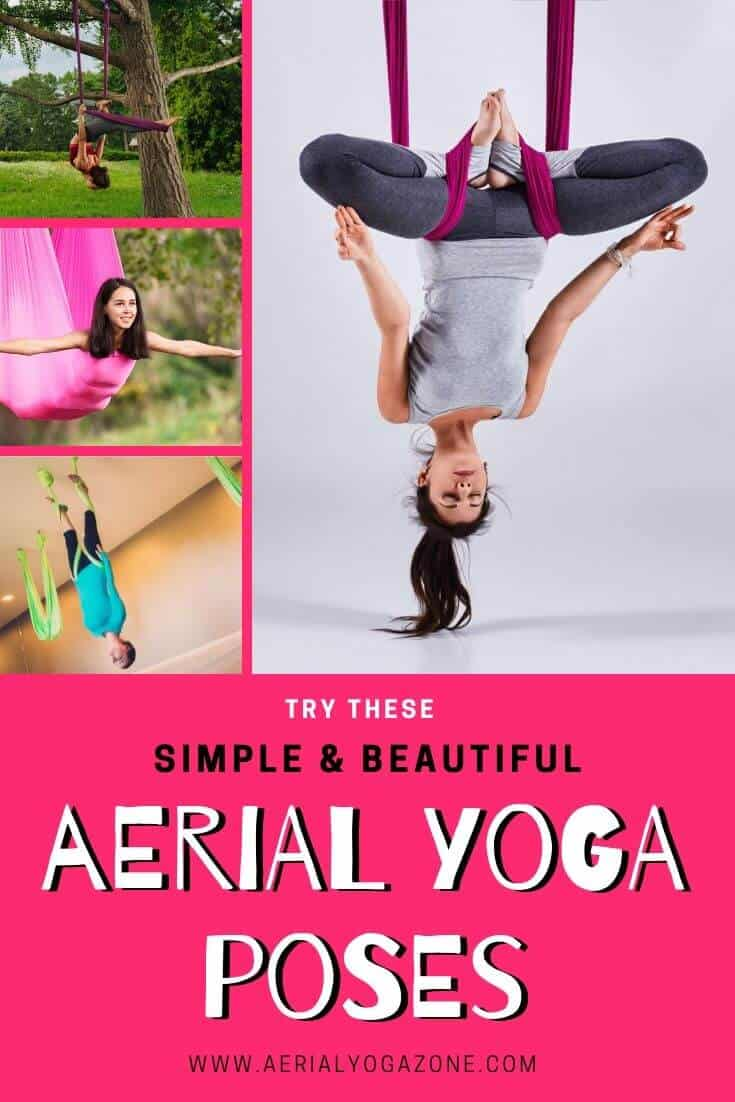 Simple yet Beautiful Aerial Yoga Poses to try TODAY