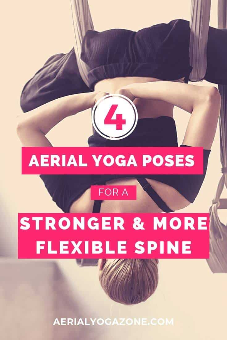 Aerial Yoga Poses for a Stronger Spine
