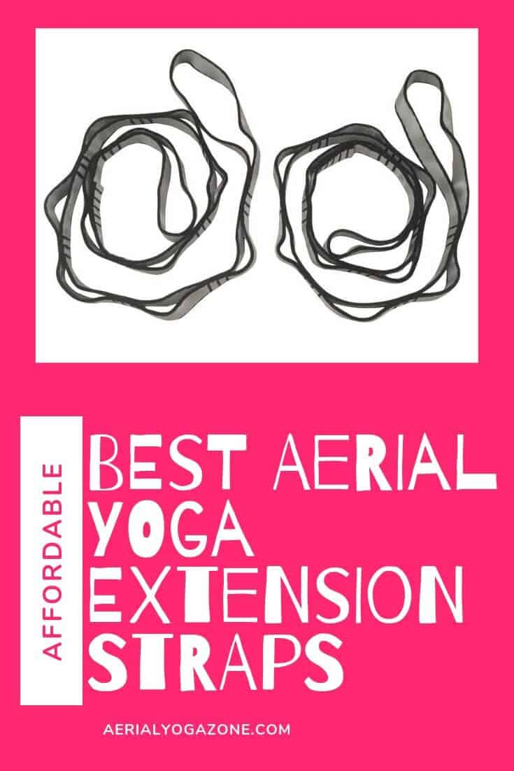 Best aerial extension straps for aerial yoga silks, swings, hammocks, trapeze, etc